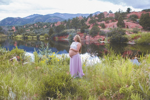 Lizeth's beautiful maternity session/ Colorado Springs Maternity Portraits/