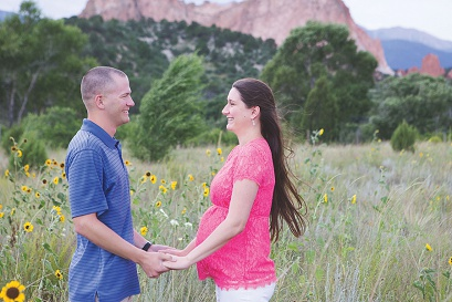 K Maternity Session/ Colorado Springs Belly portraits/Maternity Photography/